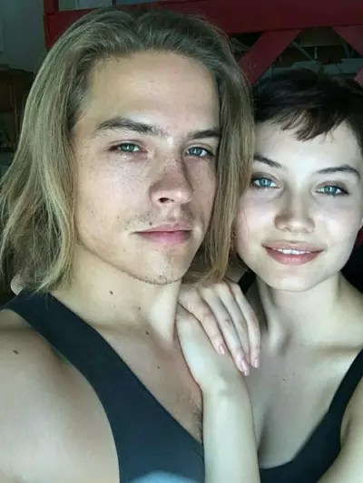 Dylan Sprouse and Dayna Frazer, Throwback
