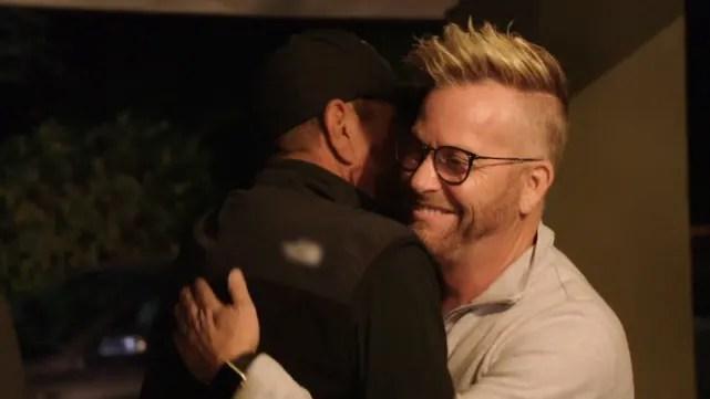 He also hugs Kenneth