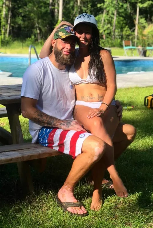 Jenelle evans and david eason on july 4
