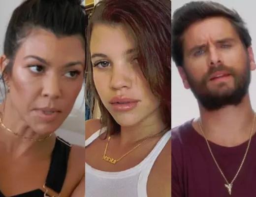 Kourtney Kardashian, Sofia Richie, Scott Disick Split