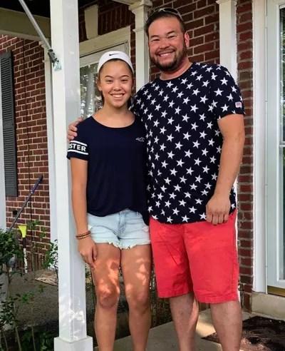 Hannah Gosselin and Jon Gosselin, 4th of July