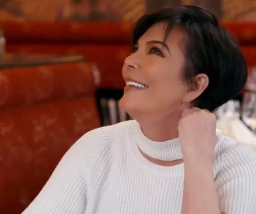 Kris Jenner Smiles on Keeping Up With The Kardashians