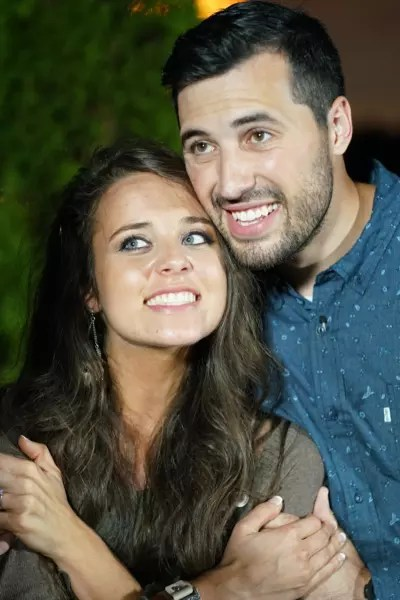 Jinger Duggar and Jeremy Throwback