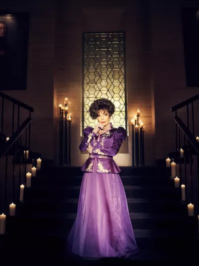 Joan Collins on American Horror Story
