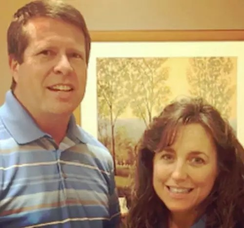 Jim Bob Duggar and Michelle, Yellowed Out