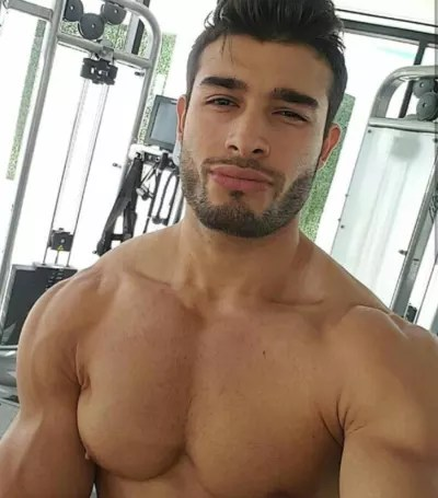 Sam Ashgari Shirtless Photo
