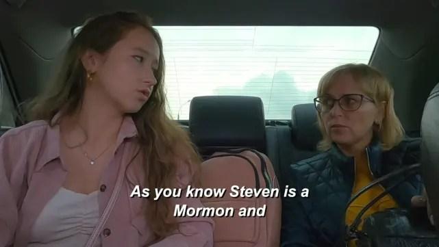 He's Mormon, you see
