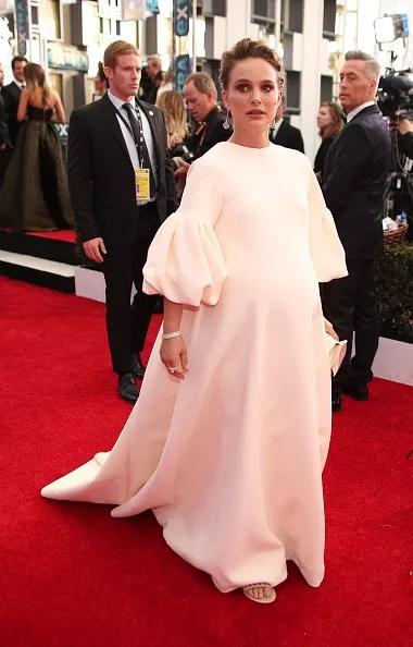 Natalie Portman at the 2017 SAG Awards