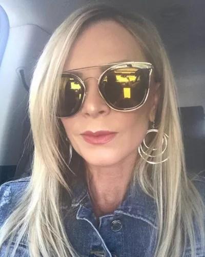 Tamra Judge Rocking Sunglasses