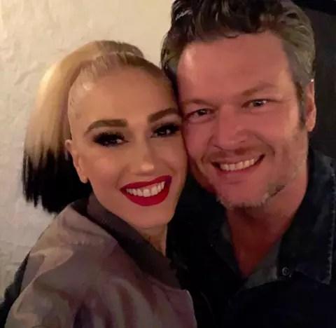 Gwen Stefani and Blake Shelton, Well Wishes
