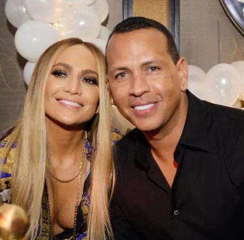 Jennifer Lopez and Alex Rodriguez in 2018