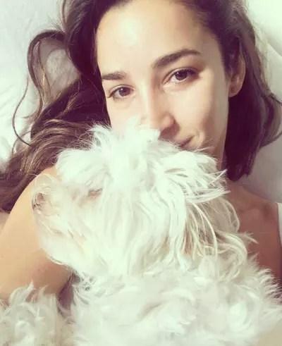 Aly Raisman and Her Beloved Dog