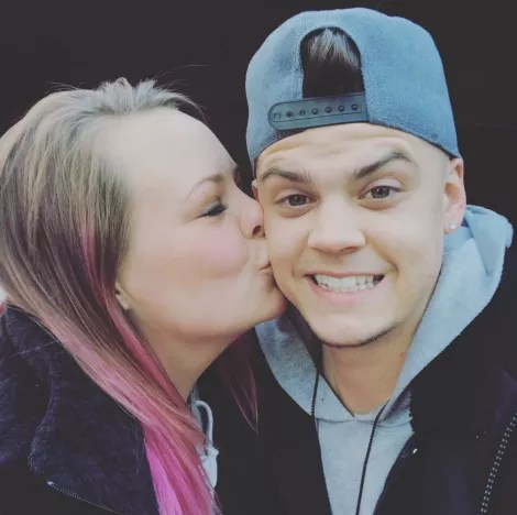 Catelynn Lowell, Tyler Baltierra on Instagram