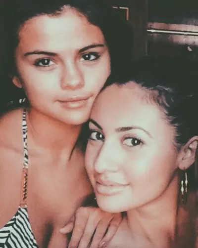 Francia Raisa and Selena Gomez