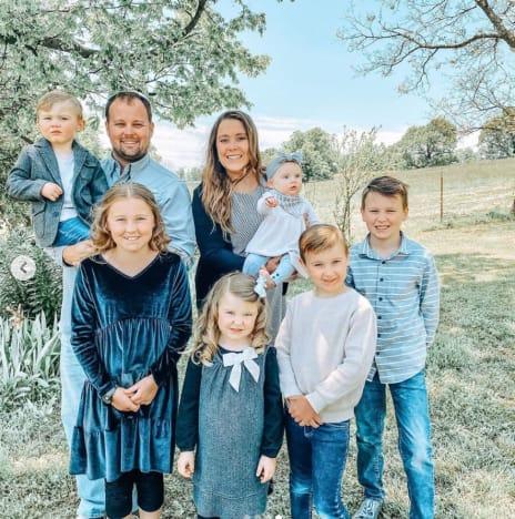 Anna Duggar and Family