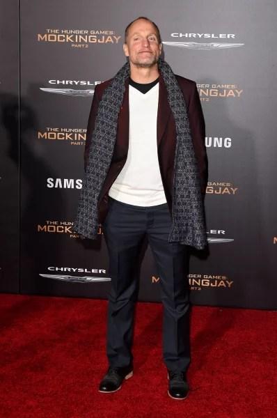 Woody Harrelson Attends Premiere