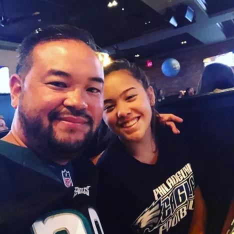 Jon Gosselin and Hannah Gosselin, Go Eagles