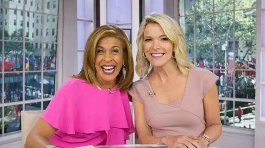 Hoda Kotb and Megyn Kelly