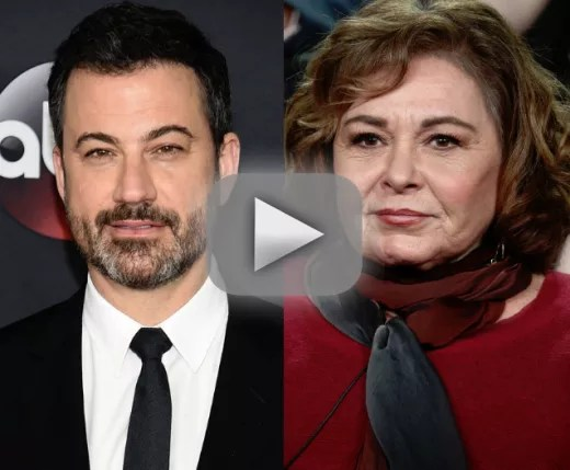 Jimmy kimmel roseanne barr isnt racist shes just crazy