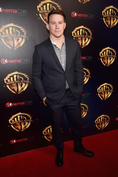 Channing Tatum Red Carpet Image