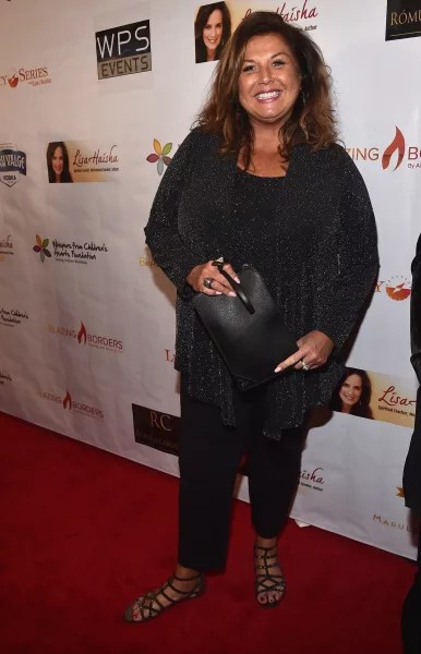 Abby Lee Miller at a Gala