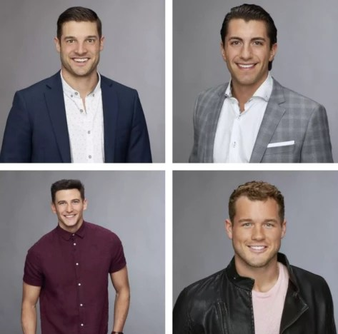 The Bachelorette Final Four 2018