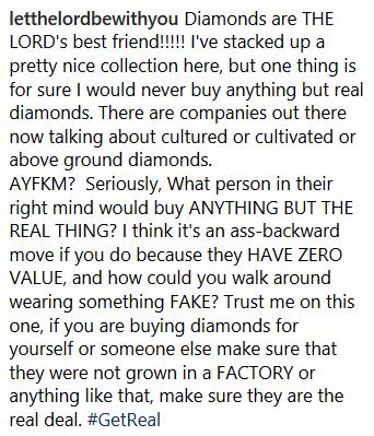 Scott Disick LOVES diamonds