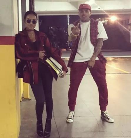 Karrueche Tran Really Loves Chris Brown For Some Reason