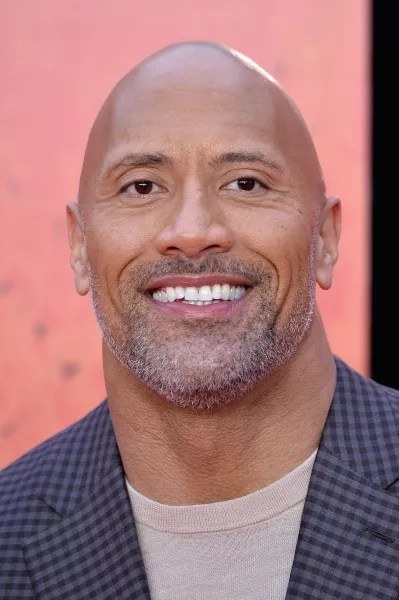 Dwayne Johnson Up Close