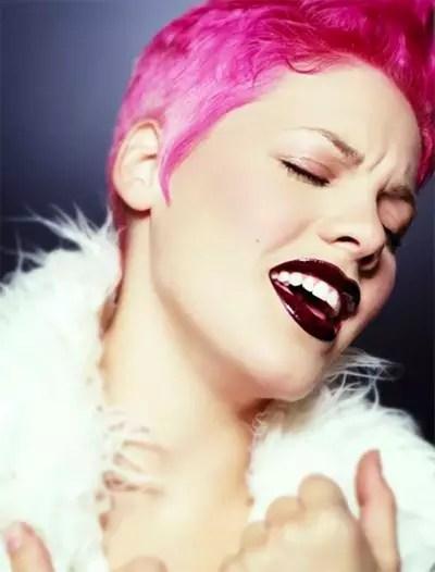 Pink Wearing Fur Photo