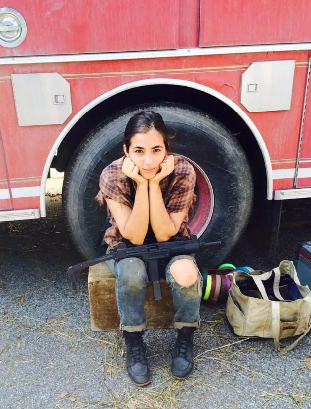 Alanna Masterson The Walking Dead Star Curses Off Body