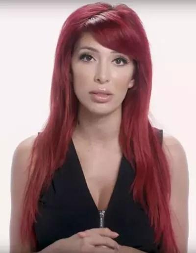Farrah Abraham's Red Hair
