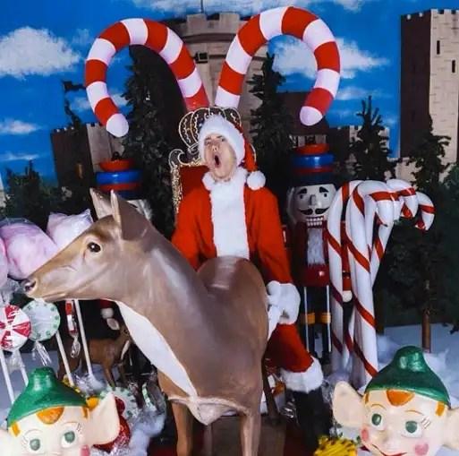 Eminem Posts X Rated Christmas Card That Poor Reindeer