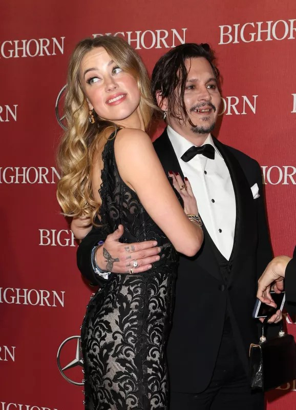 Johnny depp drunk with amber heard