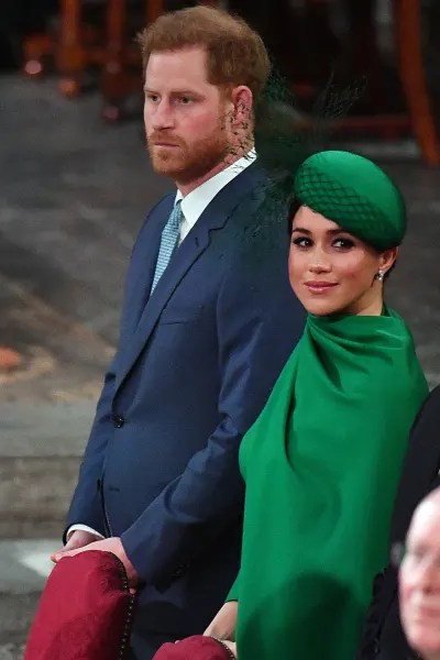 Prince Harry and Meghan Markle as Royals