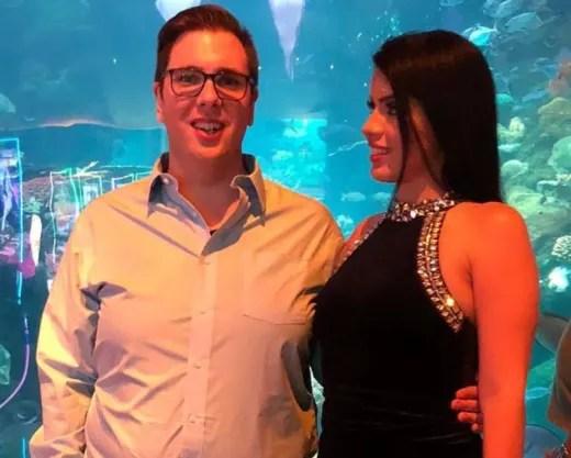 Colt and Larissa, Aquarium Visit