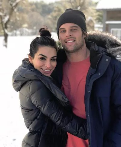 Ashley Iaconetti and Kevin Wendt Image