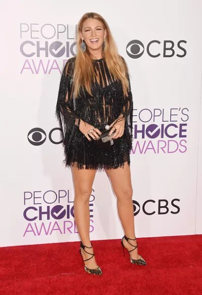 Blake Lively at the People's Choice Awards