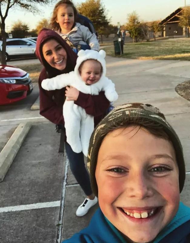 Bristol and 3 kids