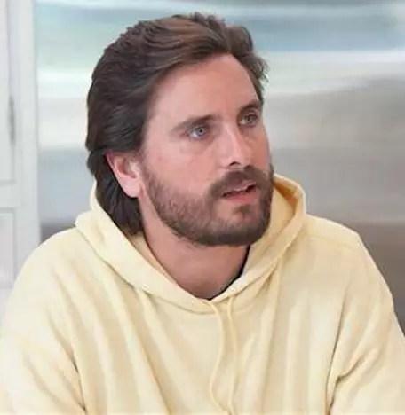 Scott Disick in Yellow