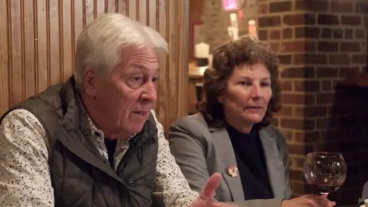 Betty Gibbs tries to demand a different wedding date