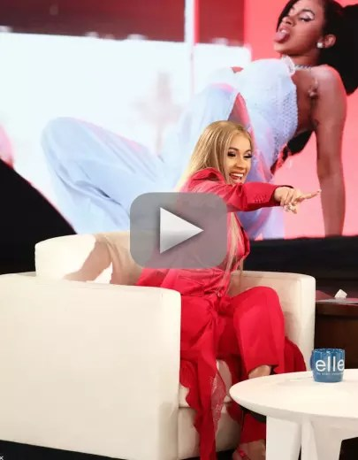 Cardi b on ellen this is the sex position in which i got knocked