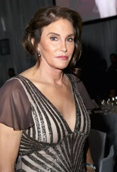 Caitlyn Jenner Stares