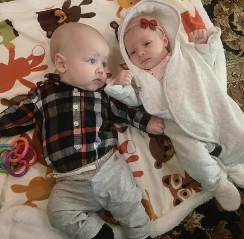 Jackson Roloff and Ember Jean, by Amy Roloff