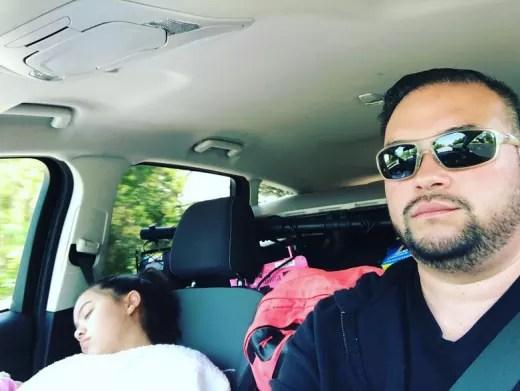 Jon Gosselin and Hannah Gosselin, Road Trip