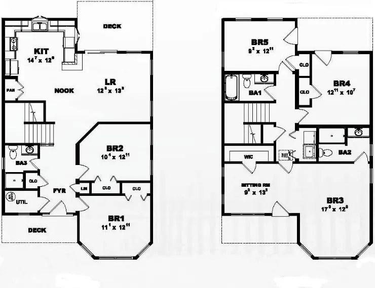 Ocean Breeze Modular Home Floor Plan