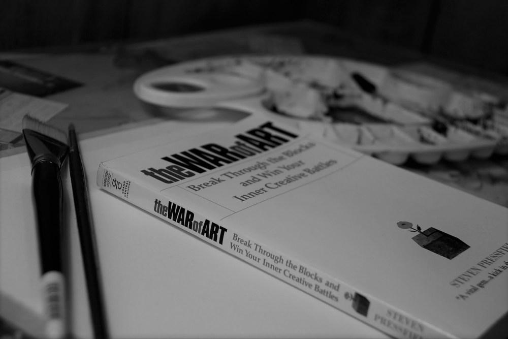 The War of Art by Steven Pressfield © CommonHeroProject
