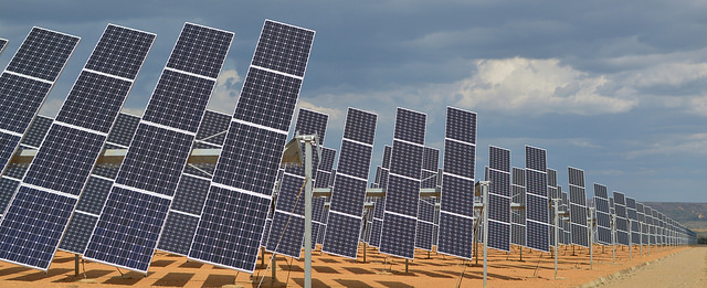 Solar Panels ©James Moran/Flickr