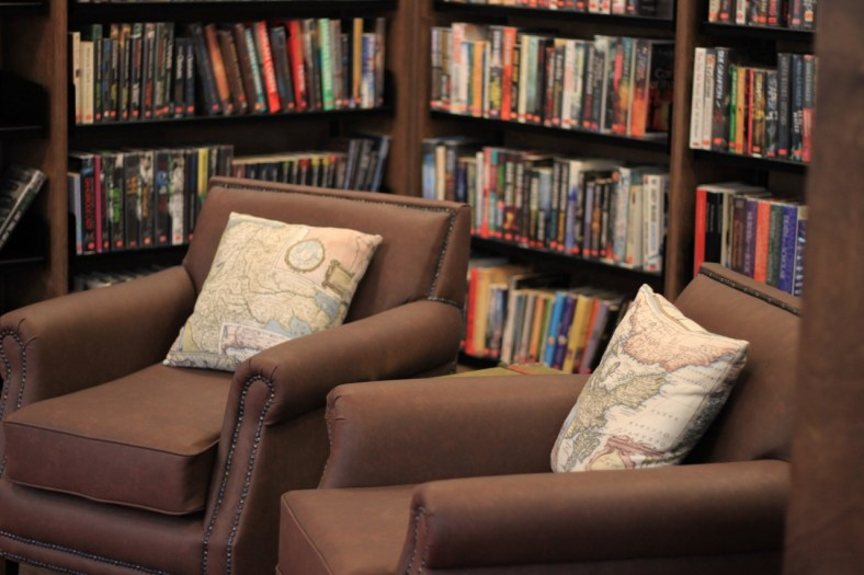 Take a seat, relax and enjoy a good book. ©Julia Migne