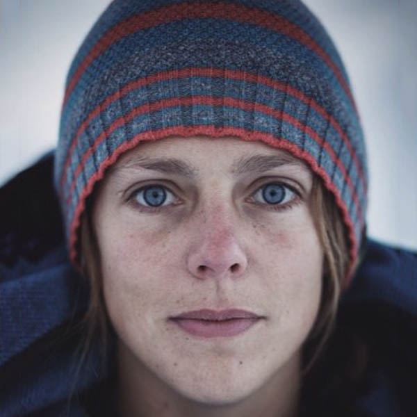 Megan Hine, British adventurer and survival expert. ©Megan Hine
